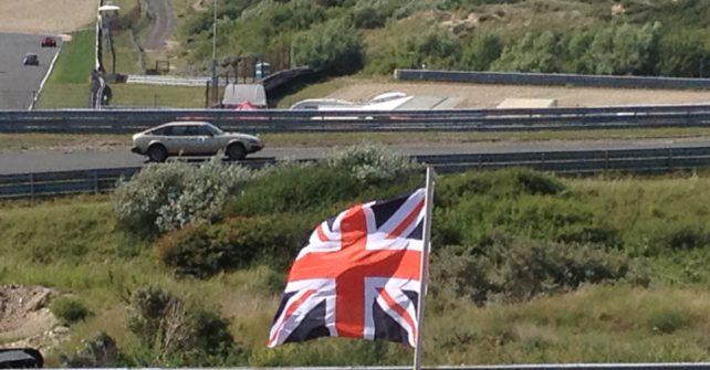 Rover SD1 racen op circuit