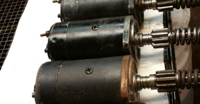 Afdeling Startmotoren