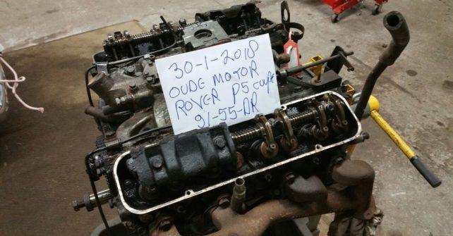 Motor revisie Rover P5 V8.
