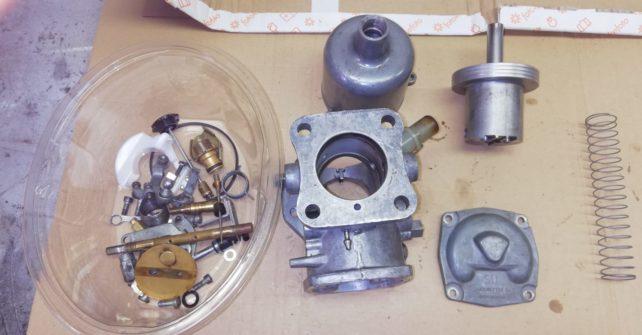 Revisie SU Hiff 6 carburateur set.