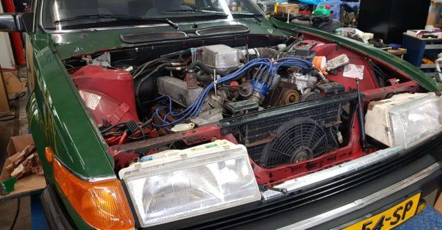 Rover Sd1 Vitesse, bouwjaar 1985.
