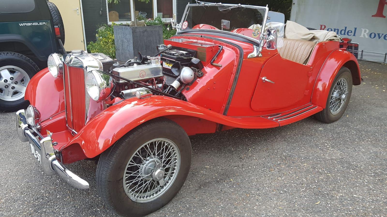 Te koop MG TD – 1953